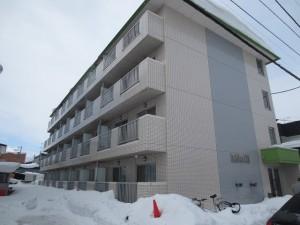 サンパレスN18 外観(before)
